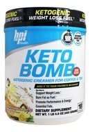 BPI Sports - Keto Bomb Ketogenic Weight Loss Fuel French Vanilla Latte - 1 lb.
