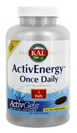 Kal - ActivEnergy Once Daily Multivitamin - 90 Liquid Softgels