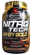 Muscletech Products - Nitro-Tech Performance Series 100% Whey Gold Double Rich Chocolate - 2.5 lbs.