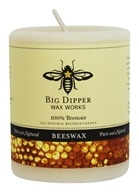 Big Dipper Wax Works - 100% Pure Beeswax Candle 3