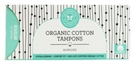 The Honest Company - Organic Cotton Tampons Regular No Applicator - 20 Count