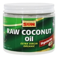 Health From The Sun - Organic Raw Coconut Oil - 14 oz.