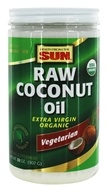Health From The Sun - Organic Raw Coconut Oil - 32 oz.