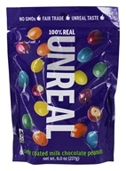 Unreal - Candy Coated Milk Chocolate Peanuts - 8 oz.