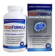 Windmill Health Products - FocusFormula Brain Health Support - 120 Tablets