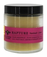 Big Dipper Wax Works - Pure Beeswax Candle Apothecary Glass Rapture Patchouli & Cassia - 3.2 oz.