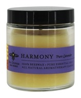 Big Dipper Wax Works - Pure Beeswax Candle Apothecary Glass Pure Pure Lavender - 3.2 oz.