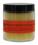 Big Dipper Wax Works - Pure Beeswax Candle Apothecary Glass Rejuvenation Sweet Orange & Clove Bud - 3.2 oz.