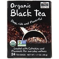 NOW Foods - Organic Boldly Black Tea - 24 Tea Bags