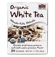 NOW Foods - Delightfully White Tea - 24 Tea Bags