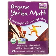 NOW Foods - Mighty Yerba Mate Tea - 24 Tea Bags