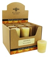 Big Dipper Wax Works - 100% Pure Beeswax Votive - 1 Count