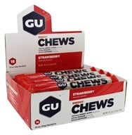 Energy Chews Box Strawberry - 18 Packet(s)