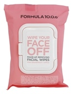 Formula 10.0.6 - Wipe Your Face Off Make-Up Removing Facial Wipes - 25 Wipe(s)