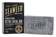 The Seaweed Bath Co. - Purifying Detox Facial Bar Unscented - 3.75 oz.