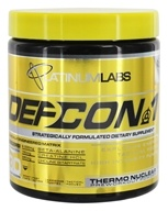 Platinum Labs - DefCon 1 Thermonuclear Preworkout Powder Red Cream Soda - 7.7 oz.