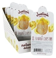 Justin's Nut Butter - Snack Pack Peanut Butter Blend With Banana Chips Honey - 1.3 oz.