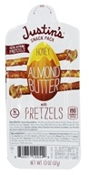 Justin's Nut Butter - Snack Pack Almond Butter With Pretzels Honey - 1.3 oz.