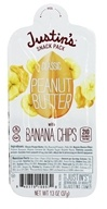 Justin's Nut Butter - Snack Pack Peanut Butter With Banana Chips Classic - 1.3 oz.