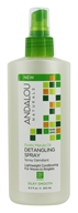 Andalou Naturals - Exotic Marula Oil Silky Smooth Detangling Spray - 8.2 oz.