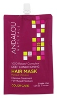 Andalou Naturals - 1000 Roses Complex Color Care Deep Conditioning Hair Mask - 1.5 oz.
