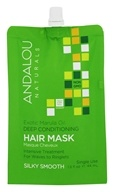 Andalou Naturals - Exotic Marula Oil Silky Smooth Deep Conditioning Hair Mask - 1.5 oz.