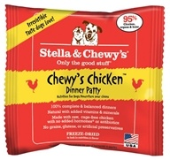 Stella & Chewy's - Freeze-Dried Dog Food Chewy's Chicken Meal Mixers Sample Pack - 0.4 oz.