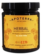 Apoterra Skincare - Herbal Detoxifying Steam with Flowers + Cleansing Herbs - 24 Grams