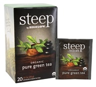 Bigelow Tea - Steep Organic Pure Green Tea - 20 Tea Bags