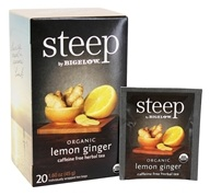 Bigelow Tea - Steep Organic Lemon Ginger Tea - 20 Tea Bags