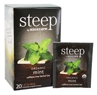 Bigelow Tea - Steep Organic Mint Tea - 20 Tea Bags