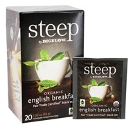Bigelow Tea - Steep Organic English Breakfast Tea - 20 Tea Bags