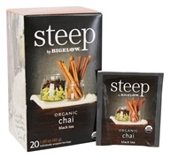 Bigelow Tea - Steep Organic Chai Tea - 20 Tea Bags