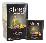 Bigelow Tea - Steep Organic Earl Grey Tea - 20 Tea Bags