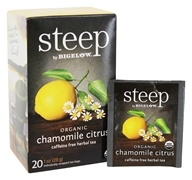 Bigelow Tea - Steep Organic Chamomile Citrus Tea - 20 Tea Bags