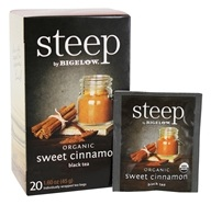 Bigelow Tea - Steep Organic Sweet Cinnamon Tea - 20 Tea Bags