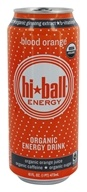 Hi Ball - Organic Energy Drink Blood Orange - 16 oz.