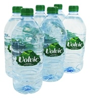Natural Spring Water Liter - 6 Bottle(s) by Volvic