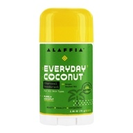 Alaffia - Deodorant with Activated Charcoal & Reishi Refreshing Coconut - 2.65 oz.