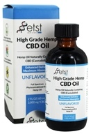 Earth Science Tech - High Grade Hemp CBD Oil Unflavored 2000 mg. - 2 oz.