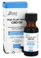 Earth Science Tech - High Grade Hemp CBD Oil Unflavored 500 mg. - 0.5 oz.