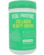Collagen Beauty Greens Vanilla Coconut - 10.8 oz. by Vital Proteins