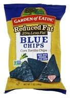Garden of Eatin - Corn Tortilla Chips Blue Chips Reduced Fat - 7 oz.