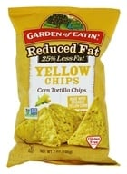 Garden of Eatin - Corn Tortilla Chips Yellow Chips Reduced Fat - 7 oz.