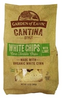 Garden of Eatin - Cantina Style Corn Tortilla Chips White Chips with Lime - 13 oz.