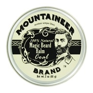 Mountaineer Brand - Magic Beard Balm Coal - 2 oz.