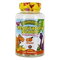 Kal - Dinosaurs Respiratory Soothe Immune Support Orange - 30 Chewables