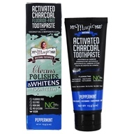 My Magic Mud - Activated Charcoal Whitening Toothpaste Peppermint - 4 oz.