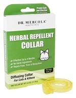 Dr. Mercola Premium Supplements - Herbal Repellent Collar For Cats and Kittens - 0.4 oz.