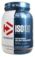 Dymatize Nutrition - ISO 100 100% Hydrolyzed Whey Protein Isolate Chocolate Coconut - 1.6 lbs.